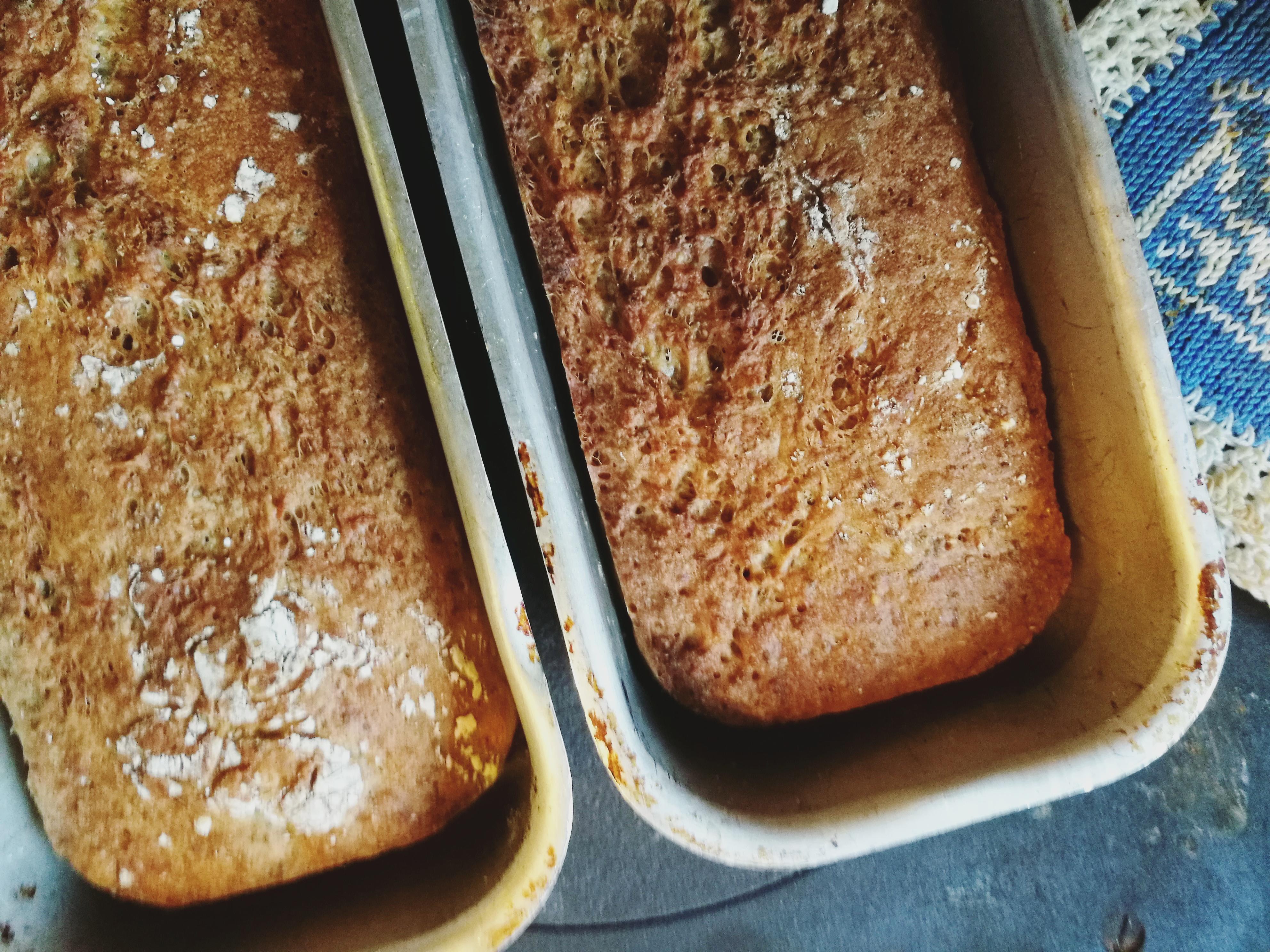 Grovbrød med spelt, havre og chia