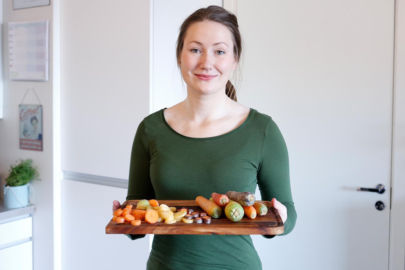 Maria Uldahl, matblogg