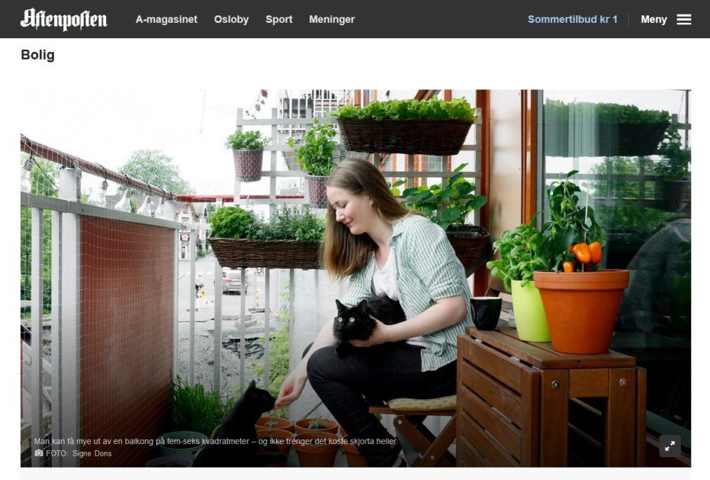Maria Uldahl Aftenposten amagasinet