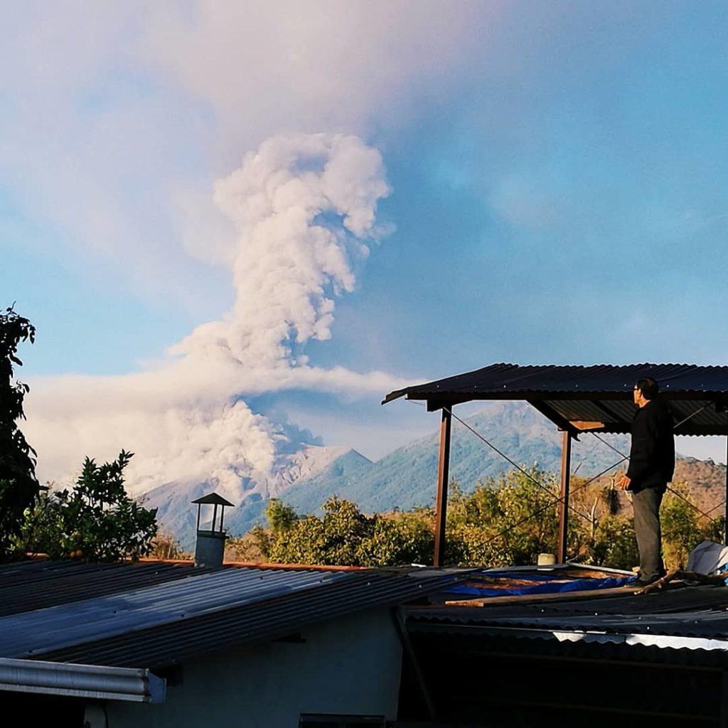 Volcan Fuego Antigua Guatemala