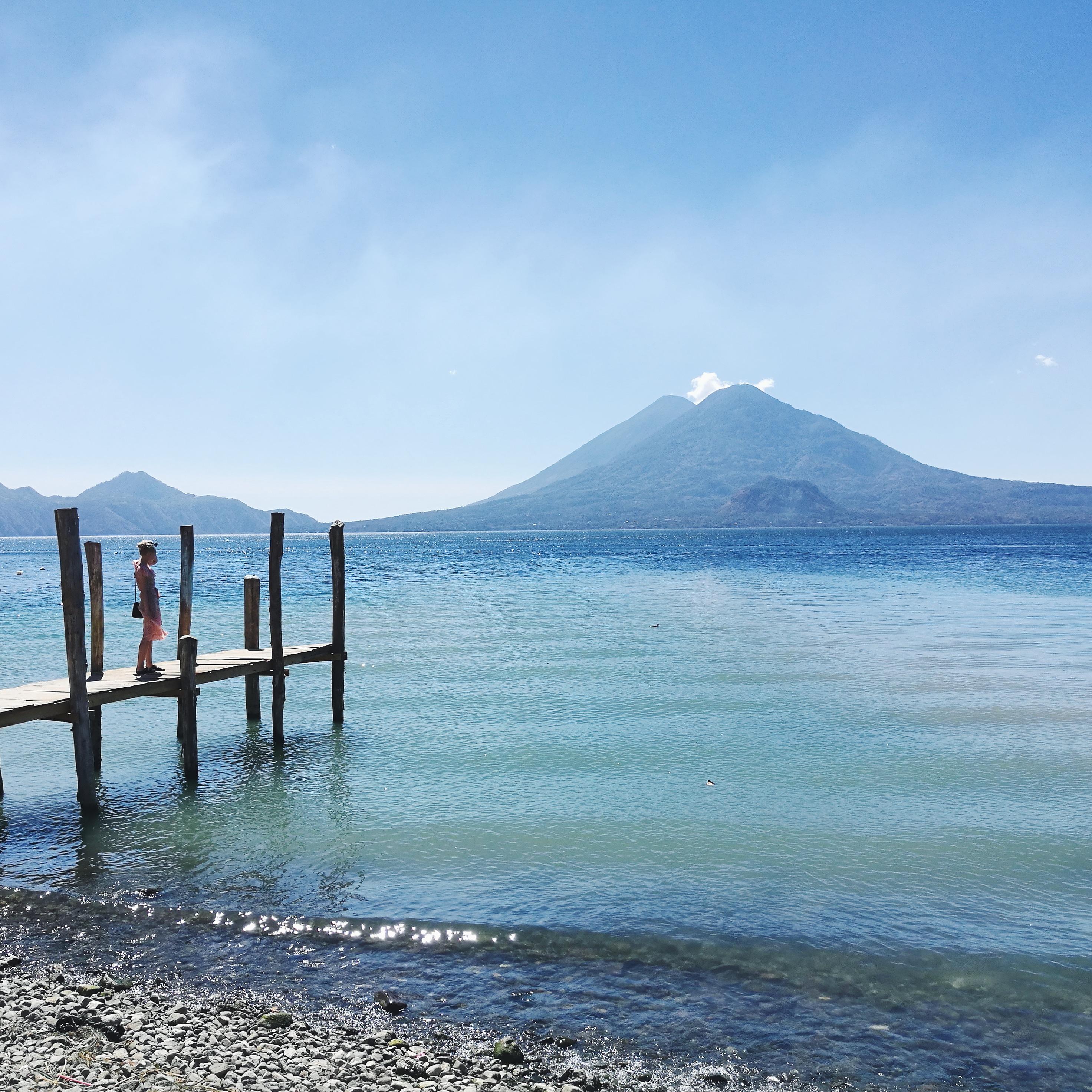 Lake Atitlán Panahachel Guatemala
