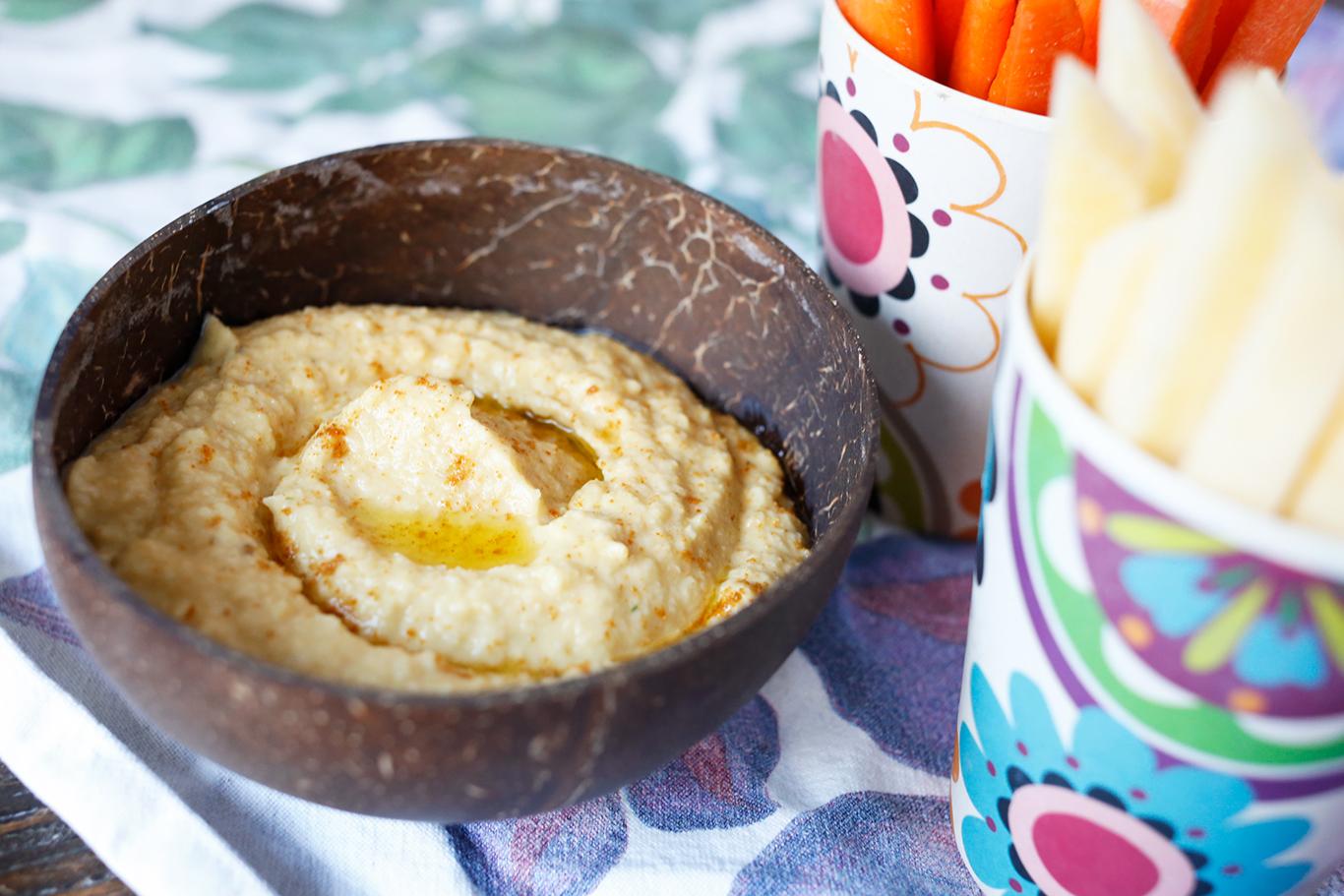 Hummus fra Marias matblogg